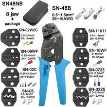 Crimping plier לסת SN 48B SN 02C SN 06WF SN 11011 SN 02W2C SN 0325 SN 0725 SN 16WF גבוהה קשיות לסת חליפת כלים סטים