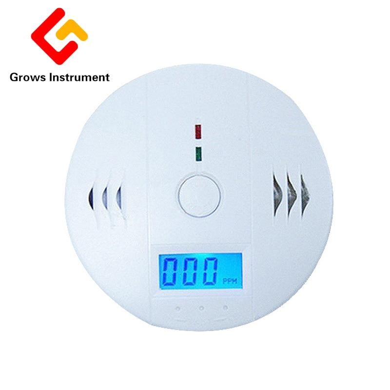GD Home LCD Digital Screen Independent Carbon Monoxide Detector for Test CO Gas Leak Detector 85dB Indoor Alarm Detector