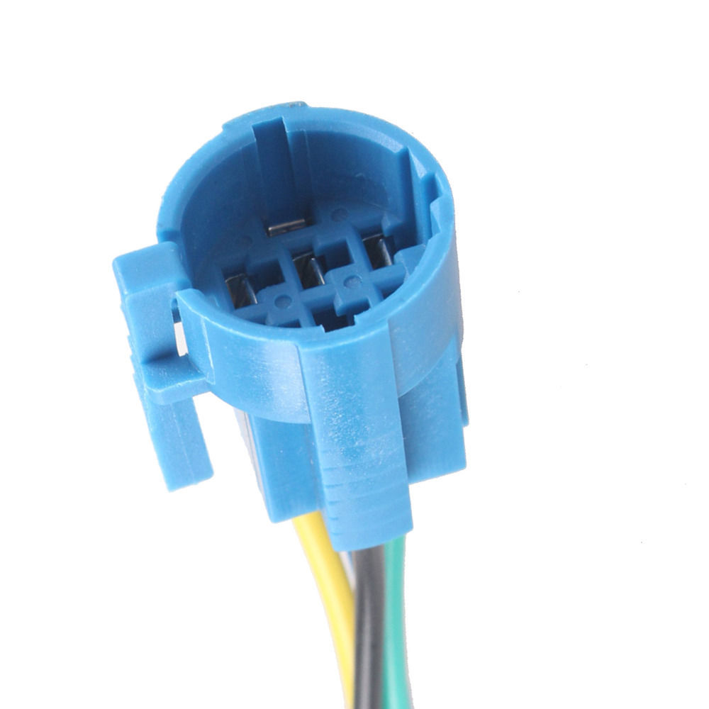 EE support 100% Brand New Quality Socket Plug for 19mm Metal Switch ON/OFF Push Buttons <font><b>6Pin</b></font> <font><b>Wire</b></font> Harness XY01 image
