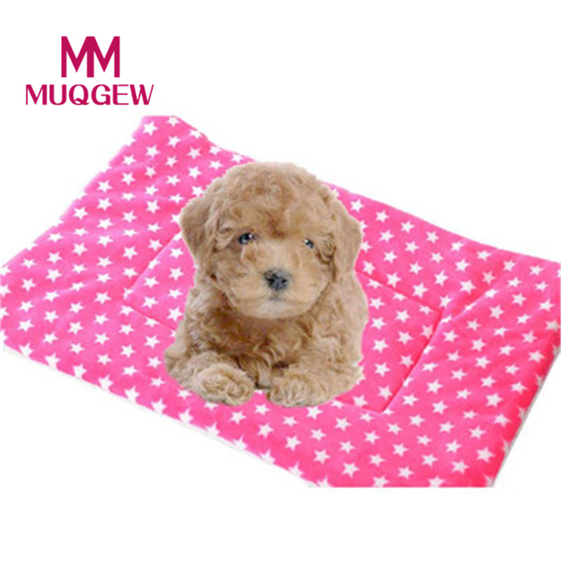 Large dog bed blanket mat Small Pet Dog Cat Flannel Blanket House Soft Cushion winter wa ...