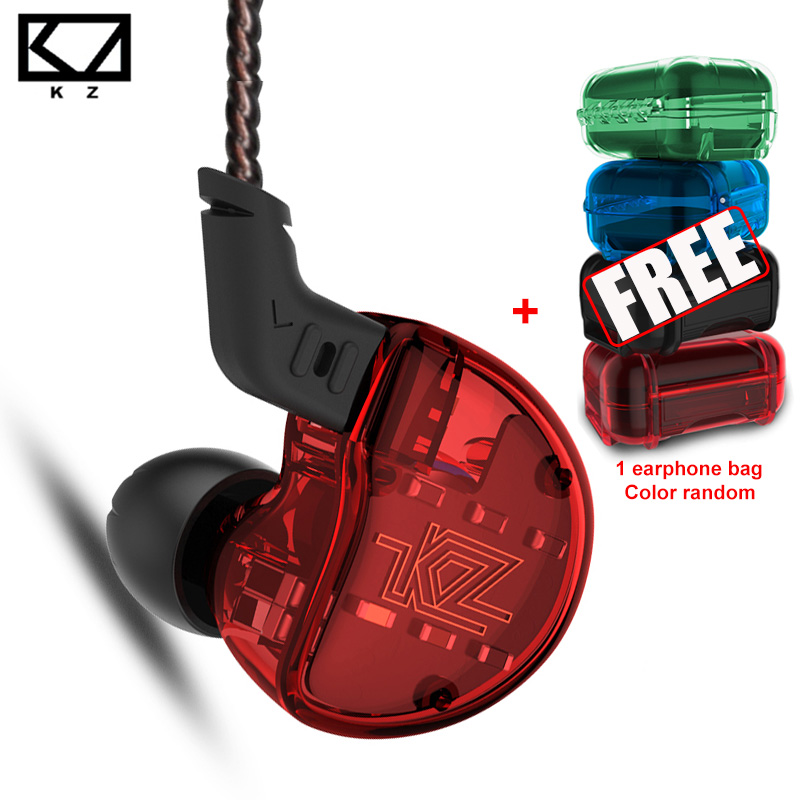KZ ZS10 Casque 10 Pilote Dans L'oreille Écouteur Dynamique Et Armature Écouteurs HiFi haute fidélité Basse Sport Casque Pour Android iOS