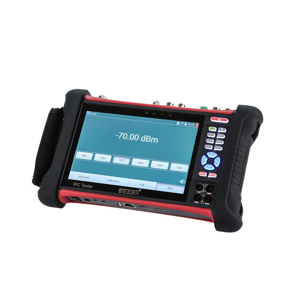 SEESII X7MOVTADHSPLUS 7Touch Screen 4K Tester Monitor IPC TVI CVI Security CCTV Camera Test H.264 Control IP Discovery Wifi 8GB