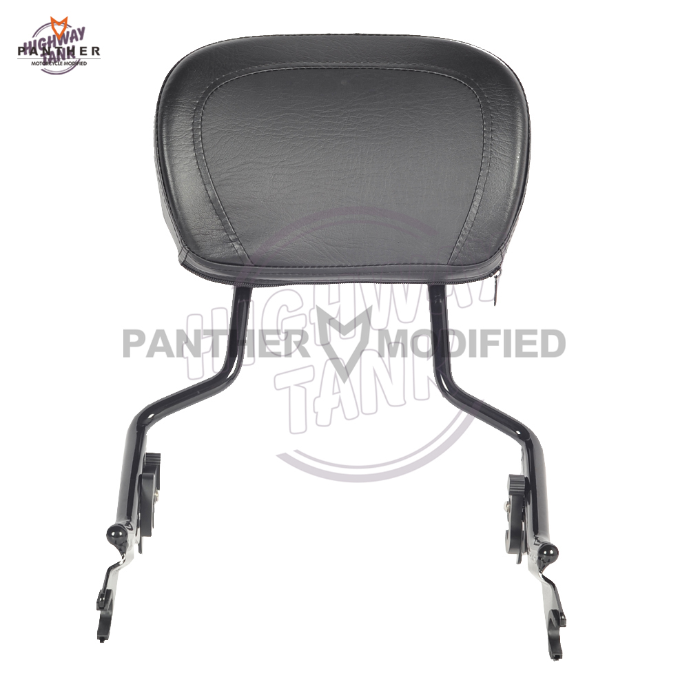 Motorcycle Detachable Sissy Bar Passenger Backrest Moto Rear decoration case for Harley Touring Street Glide Road King 2009-2017Motorcycle Detachable Sissy Bar Passenger Backrest Moto Rear decoration case for Harley Touring Street Glide Road King 2009-2017