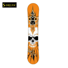 Customizable Wooden Snowboards Poplar Core Stylish Customed Outdoor Sports Equipment  Skiing Boards Freeride All Mountain