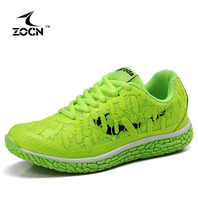 ZOCN 2017 Walking Shoes For Women Casual Shoes Lace Up Ladies Shoes Fashion Breathable Outdoor Shoes For Women Trainers 35-40