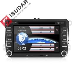 Isudar Auto Multimedia player 2 Din Auto DVD Per VW/Volkswagen/Golf/Polo/Tiguan/Passat /b7/b6/SEAT/leon/Skoda/Octavia GPS Radio DAB