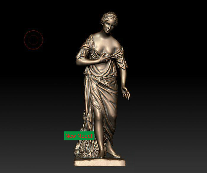 New model 3D model for cnc or 3D printers in STL file format Madame de Pompadour 3d model relief for cnc or 3d printers in stl file format skinny girl 3