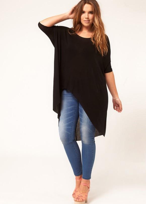 6XL Women Plus Size half Sleeve Casual Shirts Large Size ...
