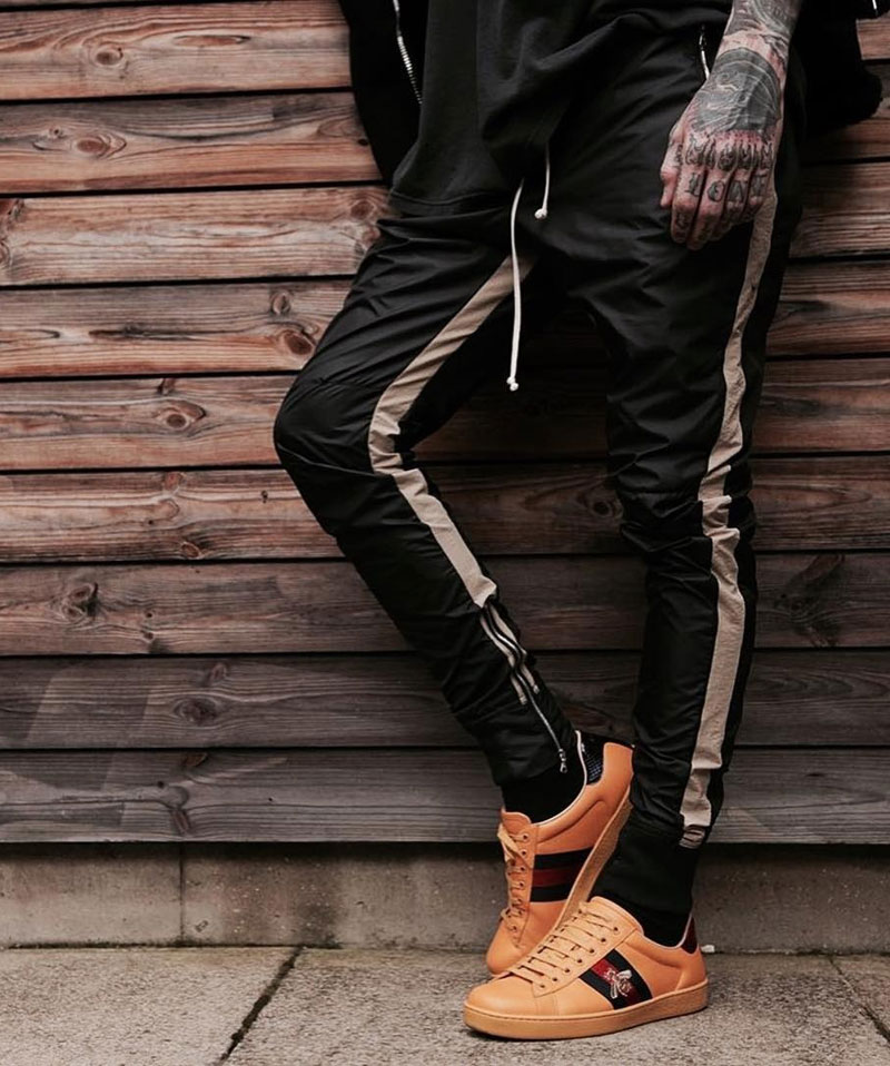 Zipped Ankle Track Pants 2