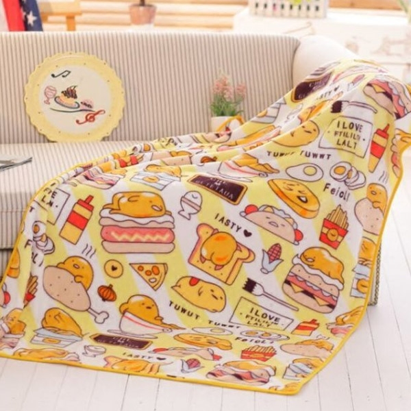 candice guo! Super cute plush toy cartoon gudetama lazy egg hamburger egg soft air condition blanket birthday Christmas gift 1pc candice guo cute cartoon plush toy sushi gudetama lazy egg kawaii stuffed small doll creative birthday christmas gift 1pc