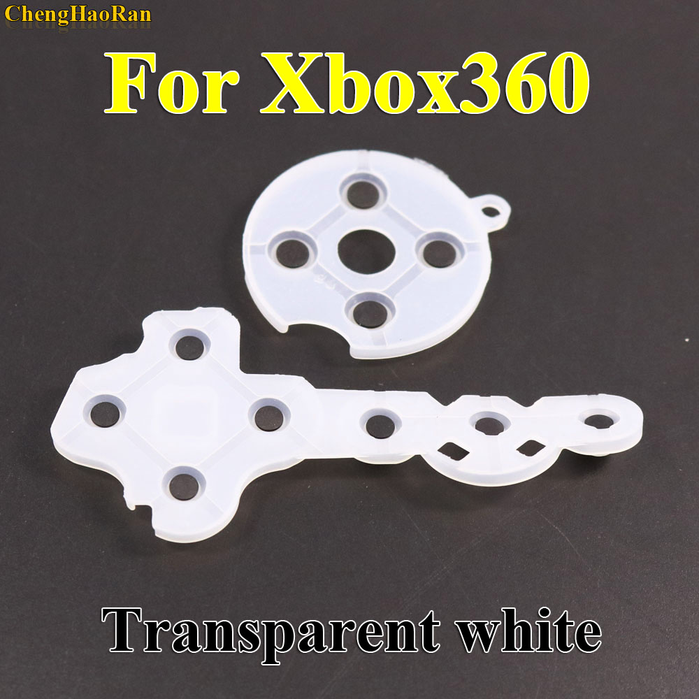 Image 2 - ChengHaoRan 100set Conductive Rubber Silicon Pads For Xbox360 Wireless Controller For Xbox 360 Contact Button D Pad Repair-in Replacement Parts & Accessories from Consumer Electronics