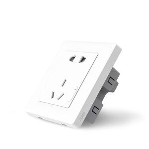 Image 4 - Originale Xiaomi casa Intelligente Aqara Controllo Della Luce Intelligente ZiGBee Interruttore Presa A Muro Spina Tramite Smartphone Xiaomi APP A Distanza Senza Fili