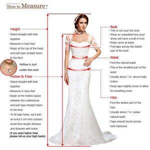 Image 3 - Simple Tea Length Wedding Dresses With Half Sleeves White Ivory Korea Bridal Dress Vestido De Novia Cheap A line Wedding Gowns