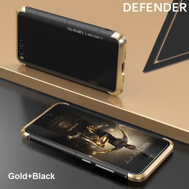 On Big Sale Showkoo Fashion Metal Aluminum With PC 3 in 1 For Xiaomi 6 Back Cover Mi6 Shockproof Shell For Xiaomi Mi 6 Coque NEW