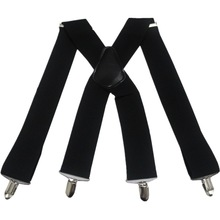Free Shipping 2017 New Fashion Male 50mm Wide X-Shape Suspenders Braces For Mens