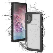 For Samsung Galaxy Note 10 Case IP68 Waterproof 360 Degree Protection Shockproof Cover for Plus Underwater