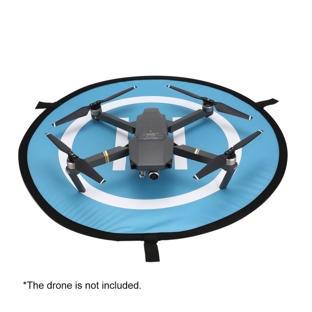 55cm Fast-fold Landing Pad Universal FPV Drone Parking Apron Foldable Pad For DJI Spark Mavic Pro FPV Racing Drone Accessory for dji mavic pro platinum portable foldable landing pad 55cm for dji mavic air pro phantom 4 pro drone accessories fpv racing