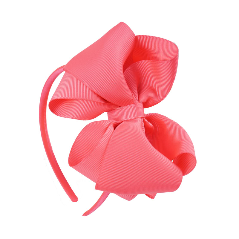 Children Grosgrain Ribbon Hairband Boutique Layers Bow Headband Hair Band For Toddler Girl Hair Accessories Party Birthday Christmas Gifts