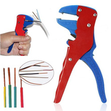 Free Shipping Automatic Self Crimper Stripping Cutter Adjust Cable Wire Stripper Terminal Tool