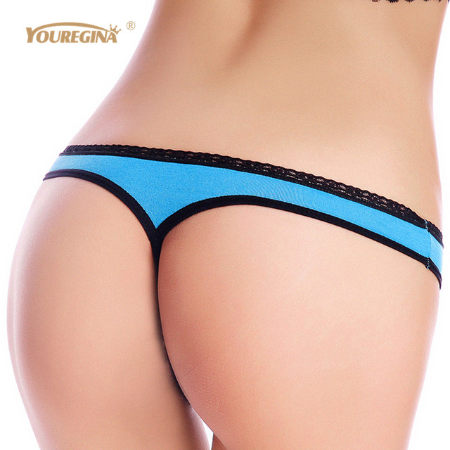 YOUREGINA Women G String Thongs Low Rise Tanga Briefs Sexy Panties Ladies' Seamless Lingerie Female Underwear Strings 1 piece 3