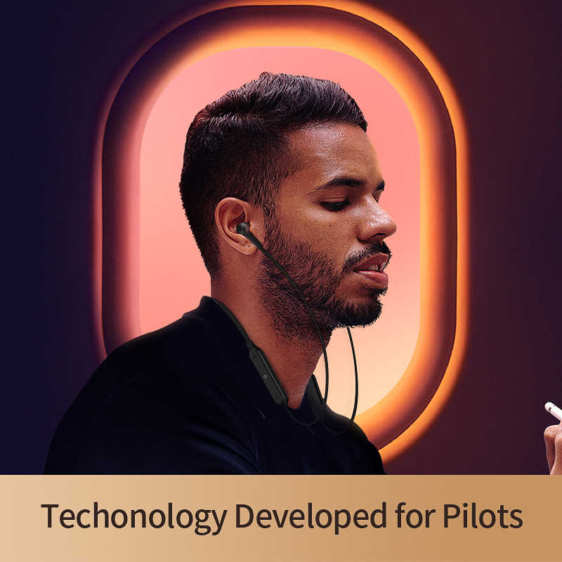 2019 QCY L2 Bluetooth V5.0 słuchawki z pałąkiem na kark ANC bezprzewodowe słuchawki douszne z mikrofonem sportowe słuchawki stereo dla wszystkich telefonów