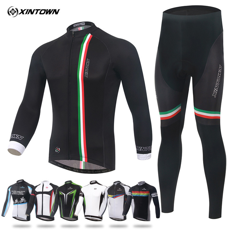 Bicycle jersey Ropa ciclismo hombre invierno winter thermal fleece long cycling jersey maillot only 2019 mtb