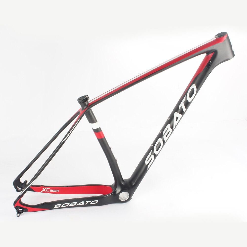 MTB углерода кадр 29er telaio carbonio Cuadro carbono MTB 29er BB30/BB68/PF30/BB92 MTB карбоновая рама 29ER горный велосипед