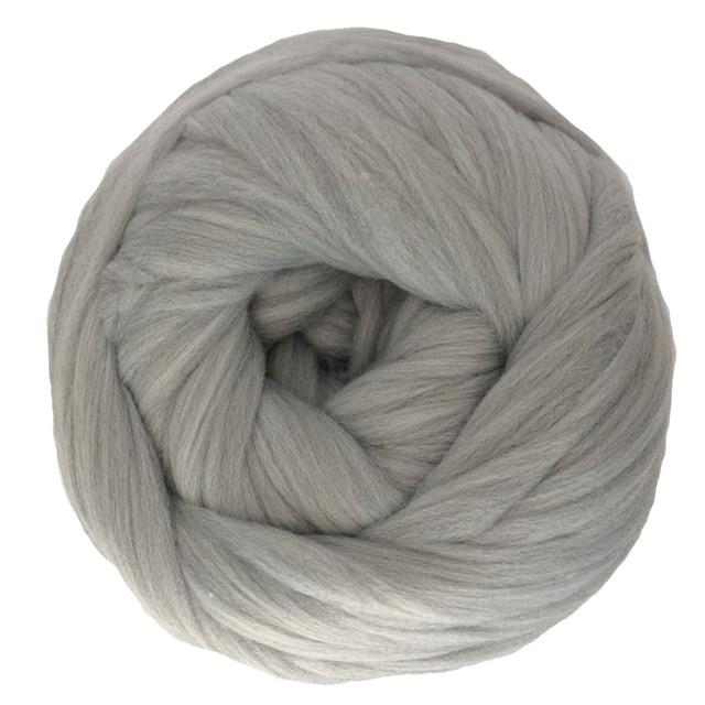 Fil à tricoter, bras Super épais, couverture, fil volumineux, Imitation laine mérinos, 1000g par balle, cadeau de noël