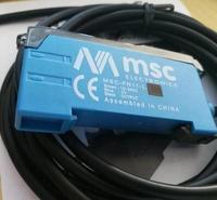 FREIES VERSCHIFFEN MSC-FN11-L neue original optische faser verstärker sensor rot lichtschranke