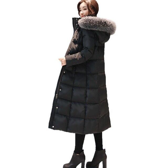 Aliexpress.com : Buy Winter Jacket Women 2017 Black Long Jacket ...