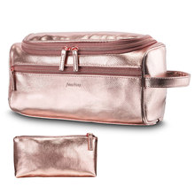 Makeup Bag Nylon Travel Organizer Cosmetic Bag for Women Necessaries Make Up Case Wash Toiletry Bag недорого