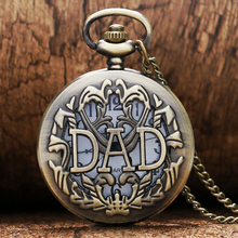 2017 Retro Bronze Vintage Hollow Quartz Pocket Watch Flower Enamel Women Men Necklace Pendant with Chain Relogio De Bolso Gifts