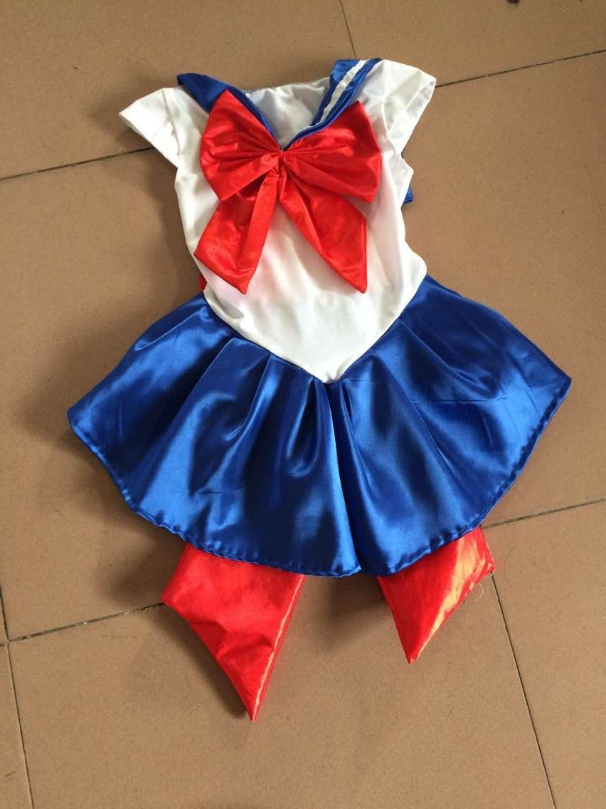 FREE SHIPPING Sailor Moon Costume Youth or Kids From Japan True Vintage!! Super Rare!!