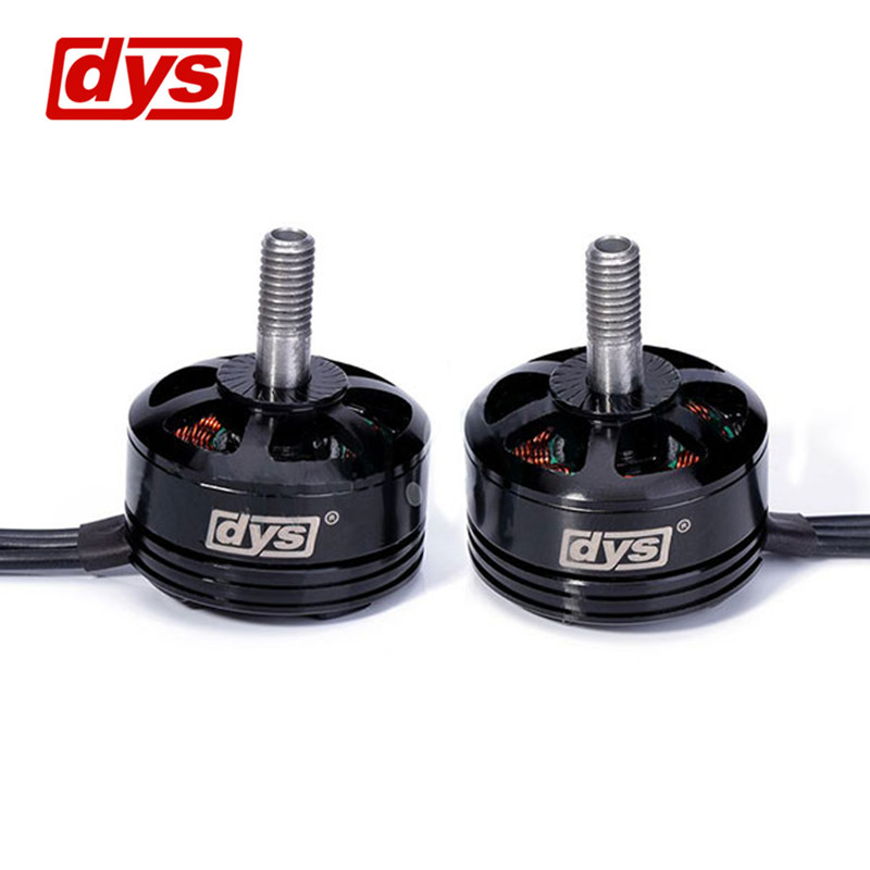 New 2Pcs DYS SE2205 2300KV 3S-5S Racing Edition CCW CW Brushless Motor For 180 210 220 FPV Racer Drobe RC Multicopter Models dys se1806 2550kv cw ccw brushless motor set