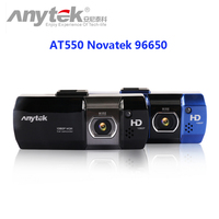 Original Anytek AT550 Car DVR Novatek 96650 Full HD 1080P/148 Wide Angle Vehicle Car Camera+G-Sensor/WDR/Night Vision Function