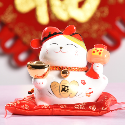 A Wide and large large Lucky cat gift shop opening ornaments creative home ceramic deposit piggy bank piggy bank Wedding Gifts