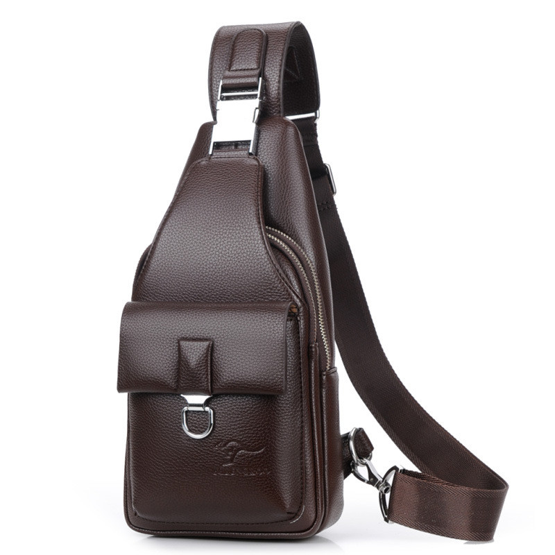 Fashion Genuine Leather Crossbody Bags men casual messenger bag Small Brand Designer Male Shoulder Bag fashion genuine leather men bags brand leisure men messenger bag man small shoulder bag high quality crossbody bags black