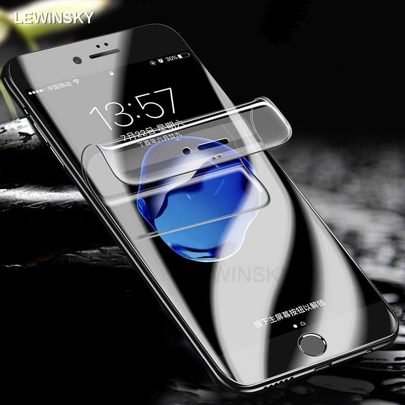 Soft Hydrogel Film For iphone 7 8 6 6s plus X phone Screen Protector Film For iphone 7 8 6 S XS MAX XR Full Cover Curved Film