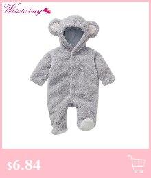 1882b7bf0064e5 Baby Pajacyki Zima Dziecko Kombinezony Lato Newborn Baby Pajacyki