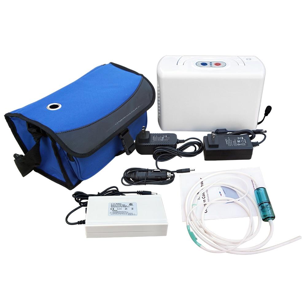 Efficient 110V Oxygen Generator 3L/MIN 32W Portable Oxygen Concentrator Machine oxygen rhma 02