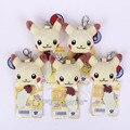 Monster Go Pikachu/Charmander/Squirtle/Bulbasaur Mini Juguetes de Peluche con llavero Suave Peluche Muñecas 5 unids/lote 5 cm