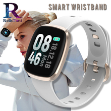RollsTimi Women's Smart Watches Blood Pressure Smart Wristband Waterproof Fitness Tracker Smart Sports Watch for Men Android IOS