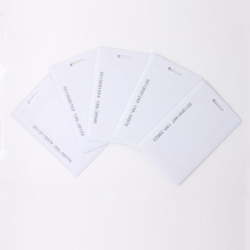 Access Control Cards 100pcs 1.8mm Em4100 Tk4100 125khz Access Control Card Time Attendance Keyfob Rfid Tags Sticker Key Fob Token Ring Proximity Chip To Assure Years Of Trouble-Free Service