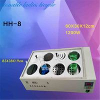 HH 8 double row eight hole water bath pot with digital constant temperature water bath ,High temperature disinfecting water bath