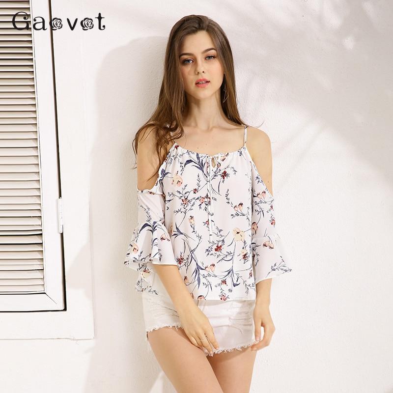 Gracegirl 2017 Summer Women Tops Series Spring Fashion Butterfly Sleeve Floral Print Sexy Blouse Shirts For Women ASS020|shirts for women|blouse shirtsexy blouse - AliExpress