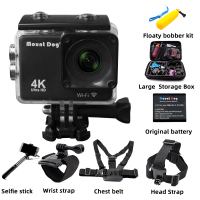 MountDog MD4247 Sport Video Camcorder DVR DV Waterproof diving go pro Camera accessories action camera HD 4K WiFi Remote Control