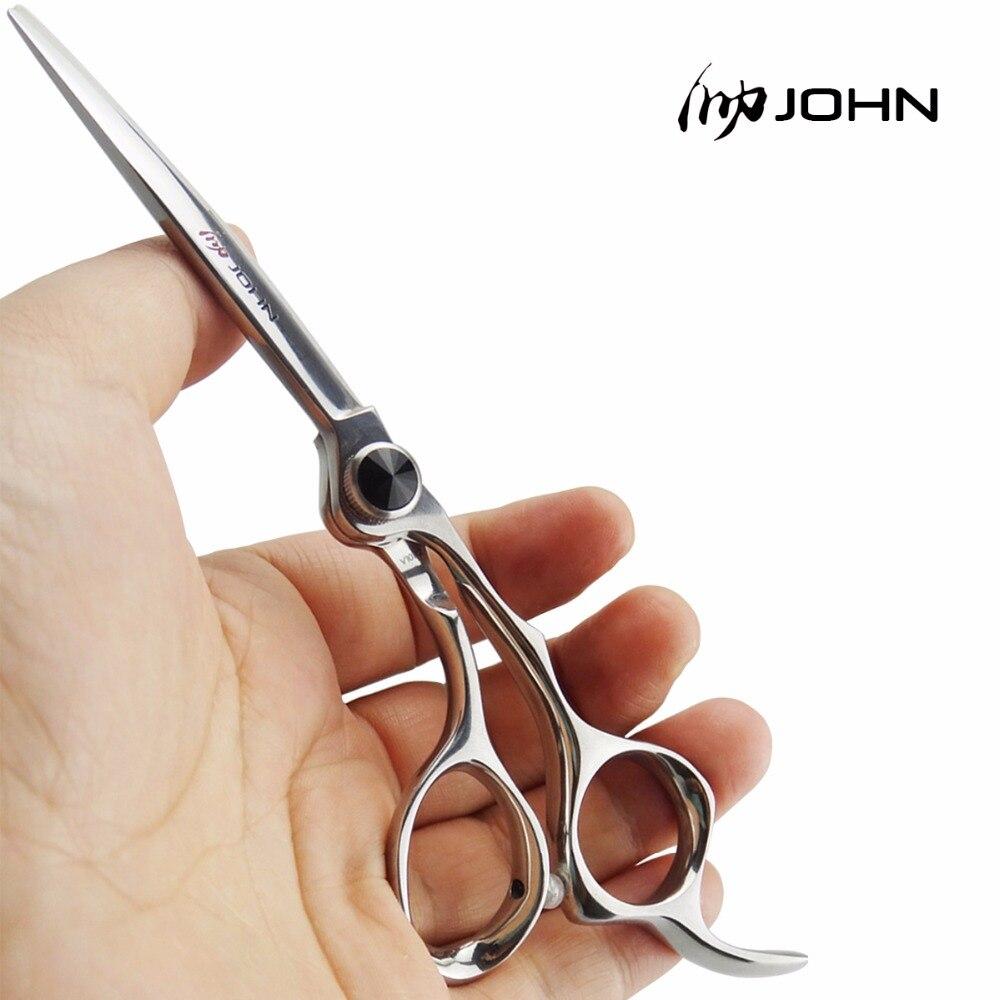 John Shears Japanese VG10 Cobalt Alloy Scissors for Cutting Hair Professional Hairdressing Scissors for Barber Shop