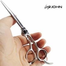 John nożyce japoński VG10 stopu kobaltu nożyczki do cięcia włosów profesjonalne nożyczki fryzjerskie na zaopatrzenie do salonu fryzjerskiego