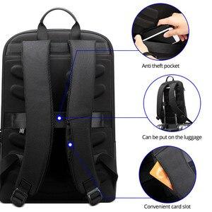 Image 5 - Bopai homens mochila magro portátil mochila para 15.6 polegada moda escritório à prova dwaterproof água negócios backpacksfor mulher ultraleve