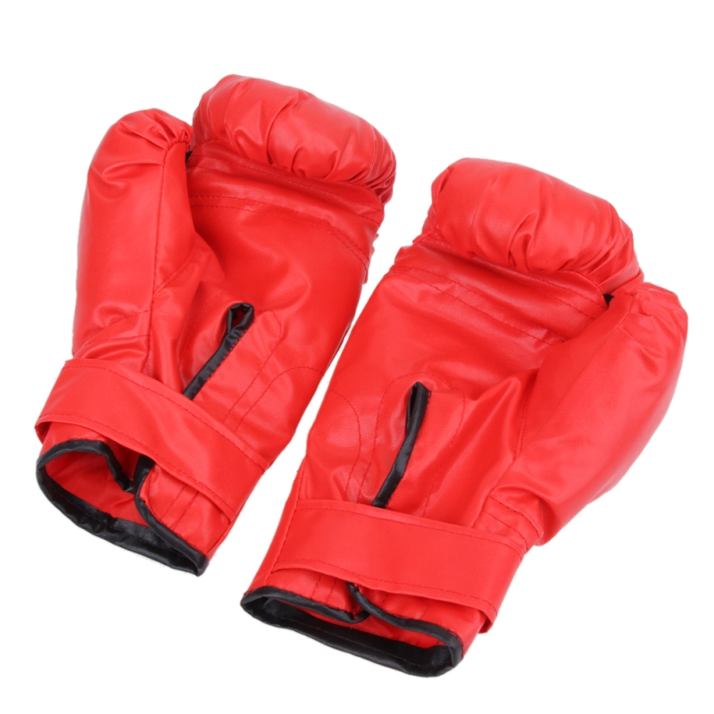 2 style Professional Boxing Gloves MMA Muay Thai Gym Punching Bag Breathable Half/Full Mitt Training Sparring Kick Boxing Gloves 23